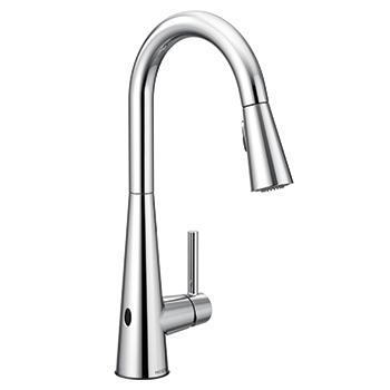 Moen Sleek touchless kitchen faucet Image