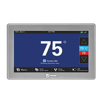 Trane ComfortLink II Control, Zone Sensors and Dampers Image